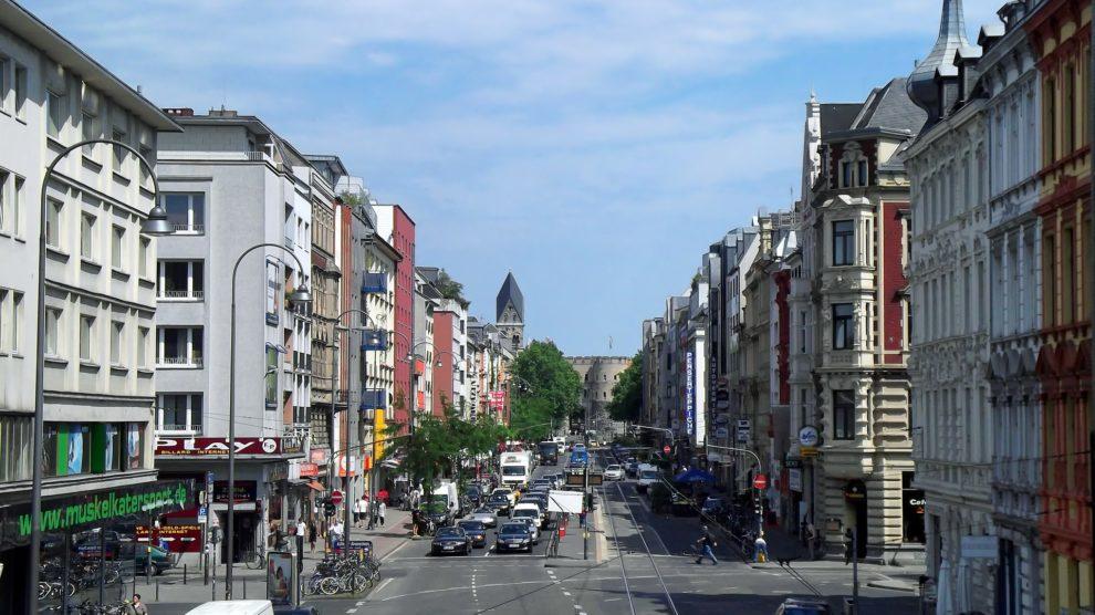 Kölner Straßenansicht